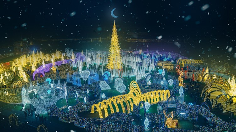 Tickets on sale for 'World's largest' Christmas light maze coming to Tropicana Field