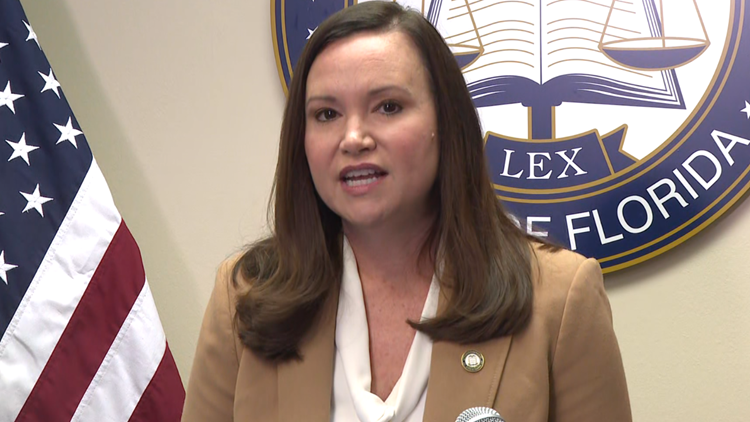 Attorney General Ashley Moody gives her support to city employees challenging Gainesville vaccine mandate