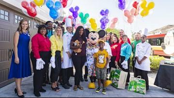 Jacksonville boy surprised with free Disney trip after spending birthday money on hurricane evacuees