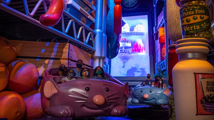 New Ratatouille ride at Walt Disney World to open Oct. 1