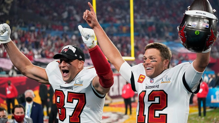 When will the Buccaneers' Super Bowl championship parade be held?