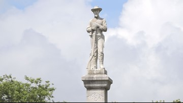 Confederate monument in Lakeland set to be moved today