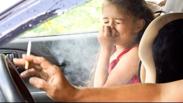 Proposed Indiana bill sets $1K fine for smoking with a child in a car