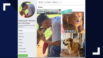 Man's dying wish is to find forever homes for his rescue dogs