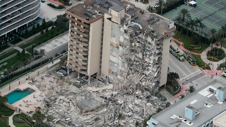 A month after Surfside condo collapse, 97 people dead, 1 person still unaccounted for