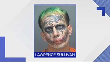 Florida 'Joker' arrested again, this time in Pinellas County