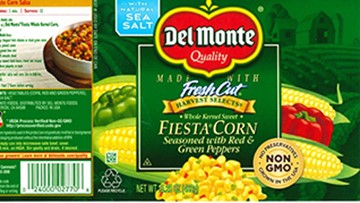 Del Monte recalls thousands of cans of Fiesta Corn