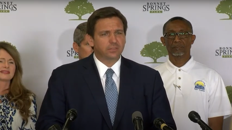 Gov. DeSantis opposes raising unemployment benefits