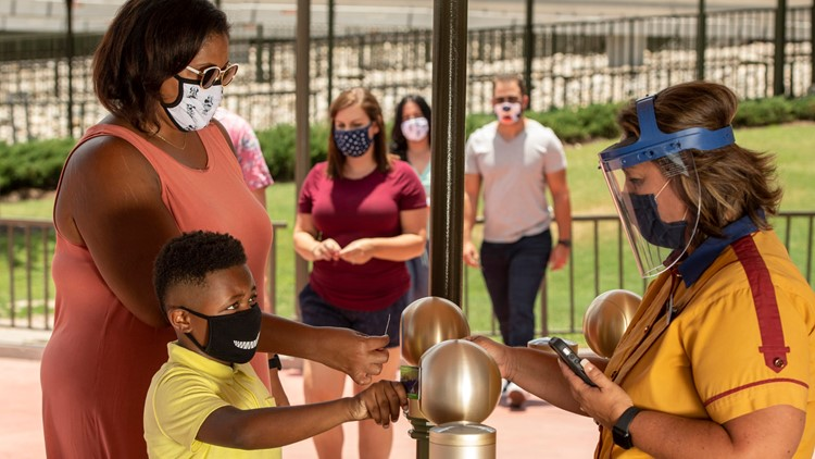 Disney World to require guests to wear masks indoors, on rides regardless of vaccination status