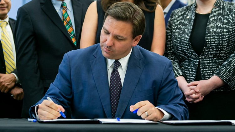 Gov. Ron DeSantis signs coastal resiliency bill