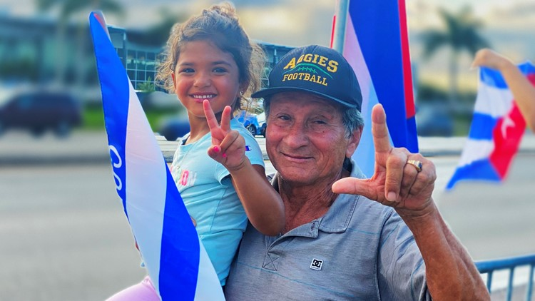 Cuban demonstrators look to take their message to the White House