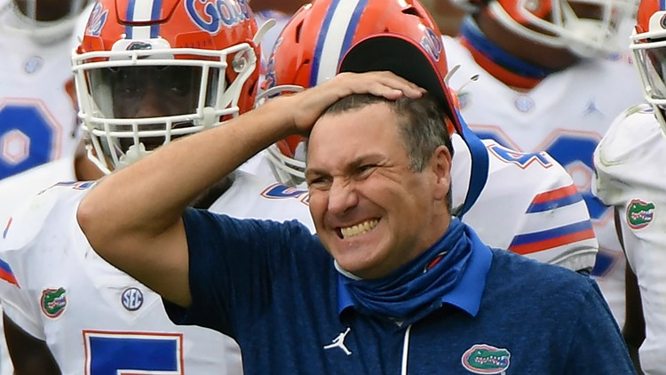 Florida Gators get probation, head football coach penalized for NCAA recruiting violations