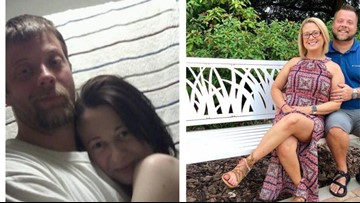 Couple shares powerful before and after photos of beating addiction