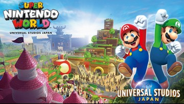 Super Nintendo World is officially coming to Universal Orlando's new theme park