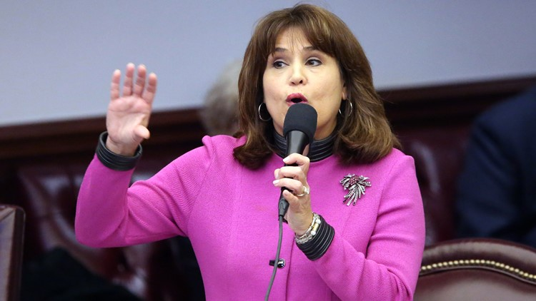 Who is Florida gubernatorial candidate Annette Taddeo?