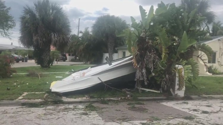 Confirmed tornado hit Tampa-area beach on Sunday