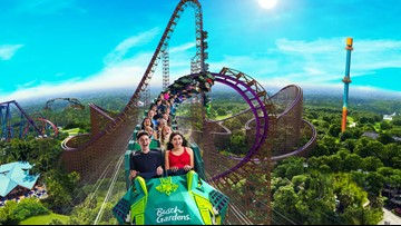 Busch Gardens, SeaWorld announce details of 2 new roller coasters coming in 2020