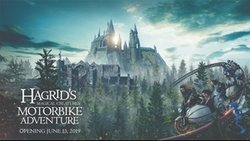 Universal Orlando reveals new details about Harry Potter roller coaster