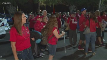 Polk County School Board member says state threatening to fire teachers if they go to rally