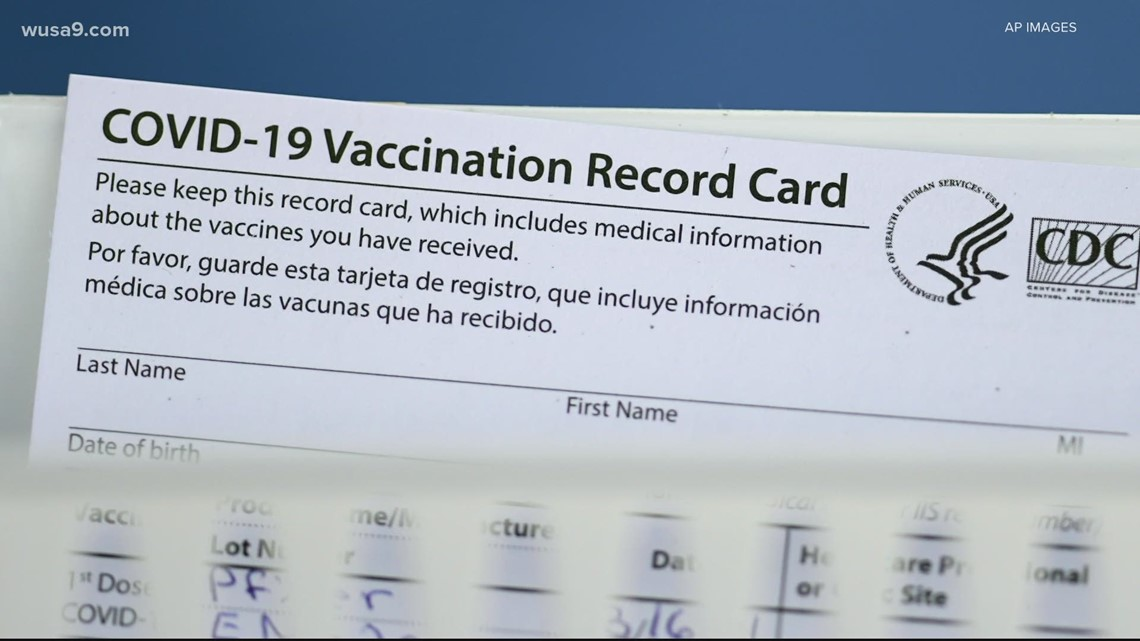 VERIFY: Under new mask guidelines, here's how to prove you're vaccinated