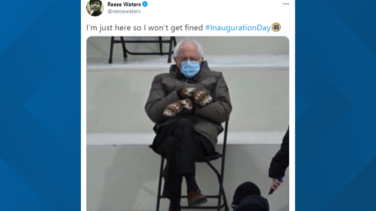 Put Bernie anywhere! Sanders and his mittens are the meme of 2021