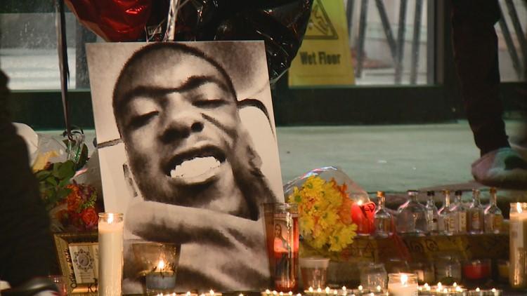 Kevin Davis vigil