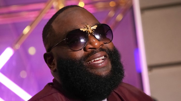 Rapper Rick Ross helped launch a health care app in Florida