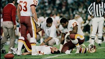 At 7 p.m., his eyes were on the Super Bowl. By 10 p.m., he'd never play football again