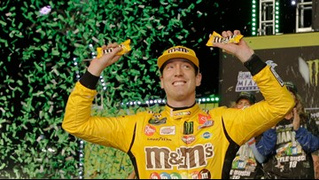 Kyle Busch wins NASCAR's Cup Series championship