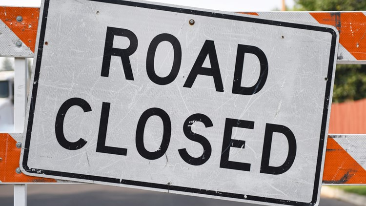 Roosevelt Blvd. closed due to flooding from heavy rain in Jacksonville