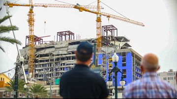 Cranes implosion delayed again at Hard Rock Hotel collapse