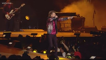 Rolling Stones move New Orleans show back one night due to Tropical Storm Barry