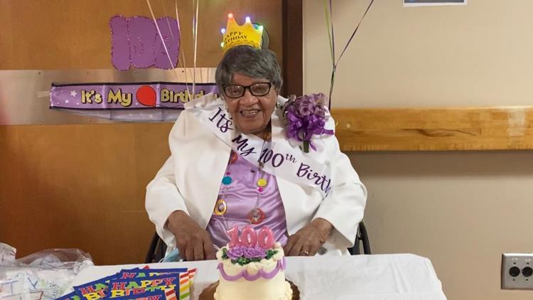 Atlanta woman reaches 100th birthday, celebrates in 'quarantine fashion'