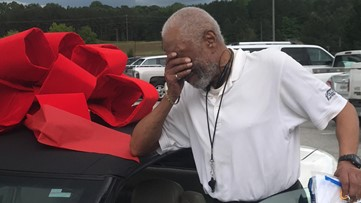 The beloved referee lost his car. When the league's parents found out, they moved him to tears with this surprise.
