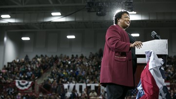 Stacey Abrams 'I don't want anyone to vote for me because I'm black'