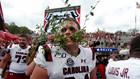 Heartbreak between the hedges: Gamecocks end Georgia's undefeated record in double overtime