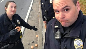 'Total carnage': Donuts on Georgia highway devastate local police