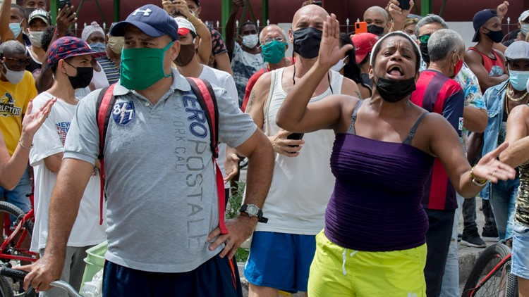Cuba's largest protests in decades fueled by economic turmoil