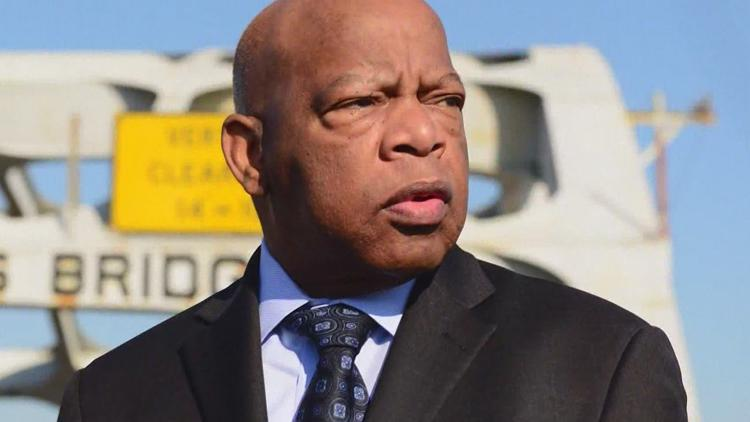 One year on from his death, John Lewis remembered as hero who 'fought tirelessly for our country's highest ideals'