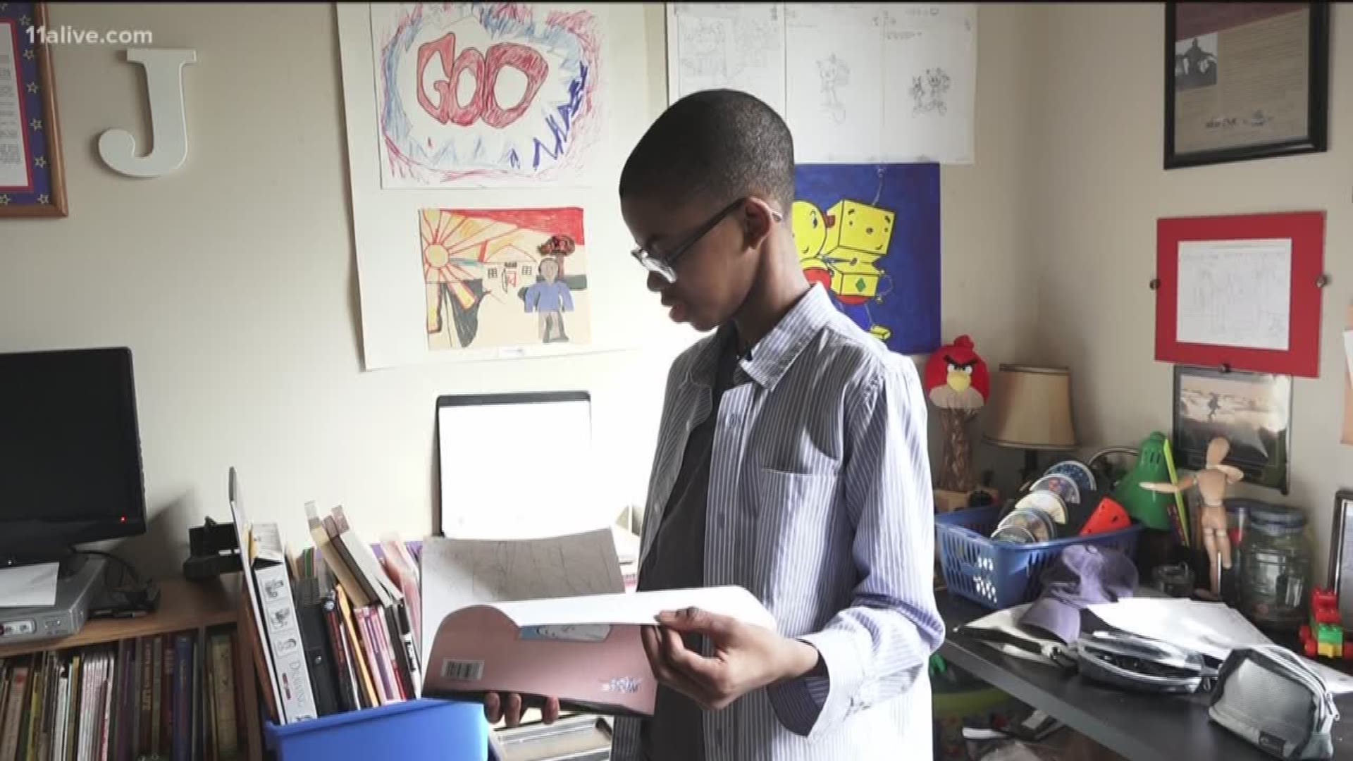 Atlanta 14 Year Old Youtube Animator Has More Than A Million Views Firstcoastnews Com