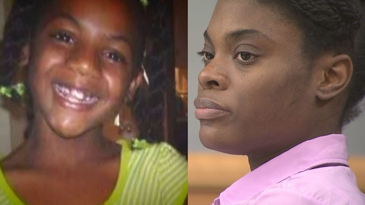 Tiffany Moss (right) is charged in the death of her stepdaughter, Emani Moss