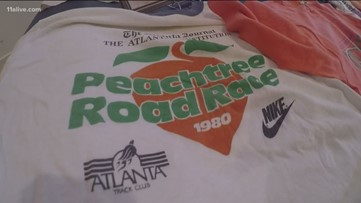 The history of the coveted AJC Peachtree Road Race t-shirt