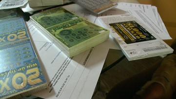 Lottery tickets kept getting mailed to a woman by mistake