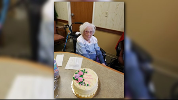 Grand Rapids woman celebrates 107th birthday on New Year's Day