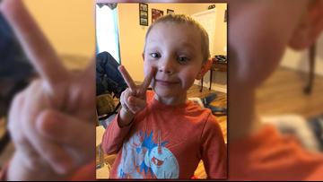 Hundreds of volunteers help police search for 5-year-old boy